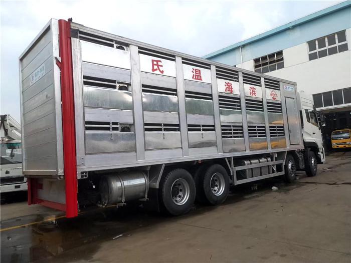 畜禽运输车|恒温车运输车报价|拉猪车价格厂家报价