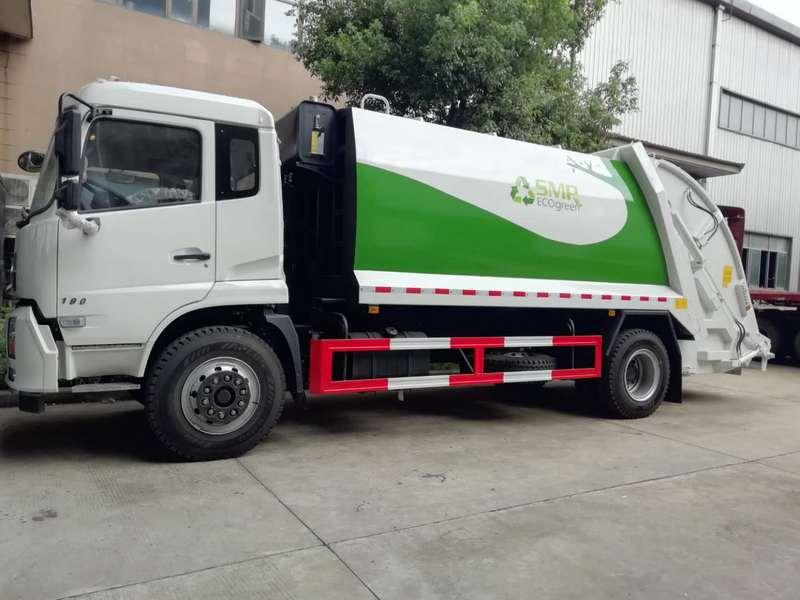 炎热的夏季如何保养5吨压缩垃圾清洁车