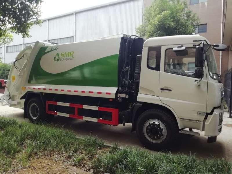 国六压缩垃圾车厂家突发故障的处理方法