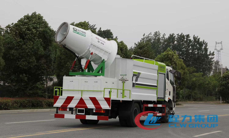 国六解放10吨多功能雾炮车价格图片