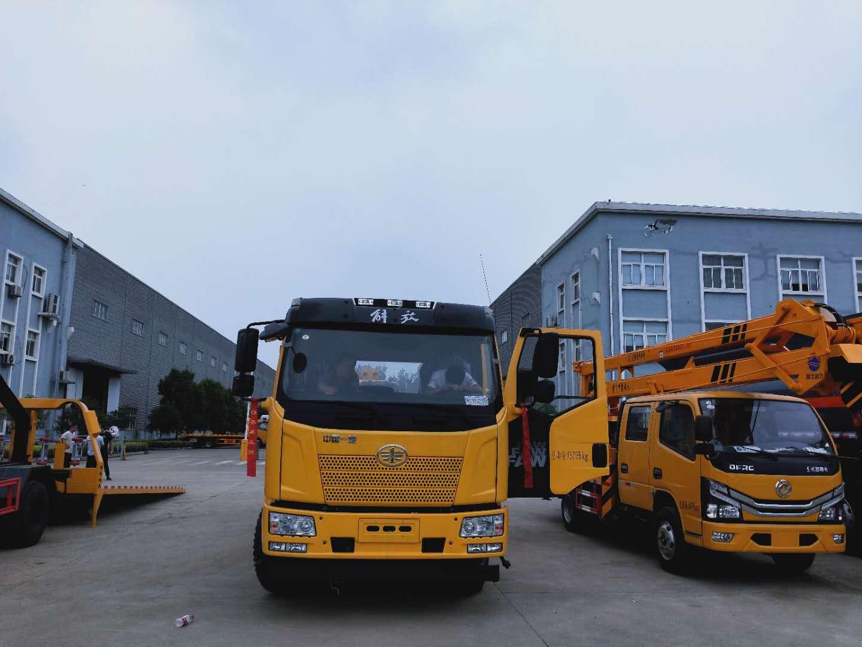 13吨解放J6拖吊联体大救援拖车厂家价格国五仅售28.8万
