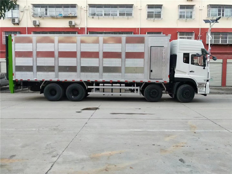 铝合金拉猪车_铝合金拉猪车多少钱报价_空调运猪车厂家