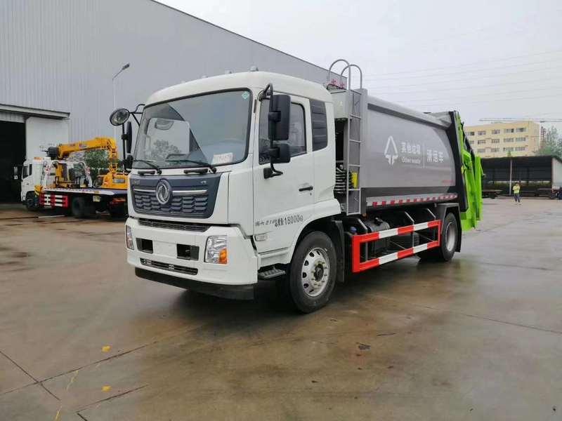 国六东风多利卡8方12方压缩垃圾车5吨压缩垃圾车降价了