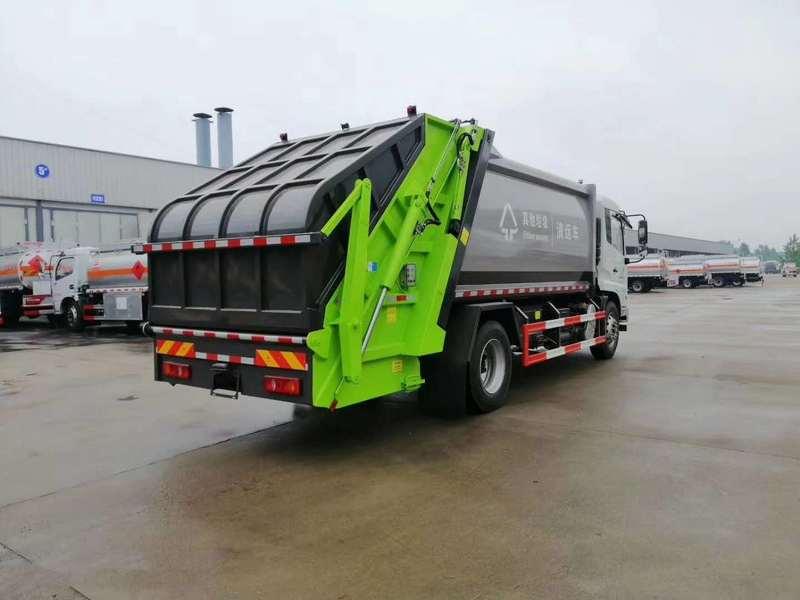 国六东风小型D6环卫压缩式垃圾车6吨价格优惠
