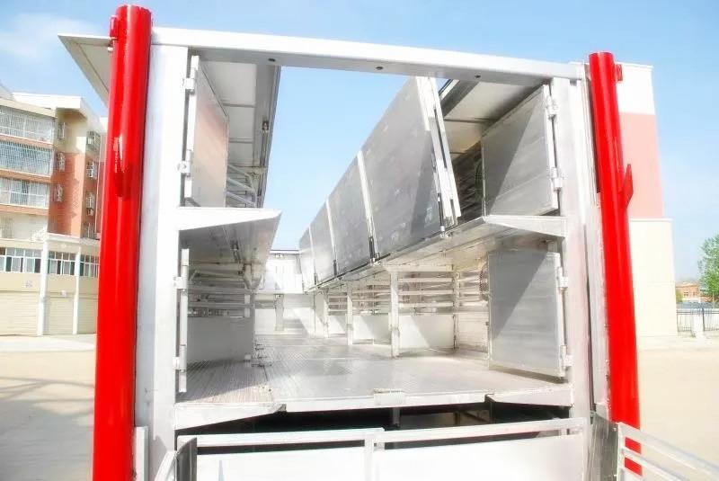 铝合金运猪车 拉猪车多少钱 铝合金运猪车报价 种猪运输车厂家(图9)