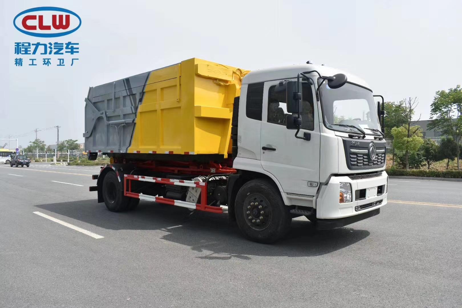 东风12吨车厢可卸式垃圾车图片