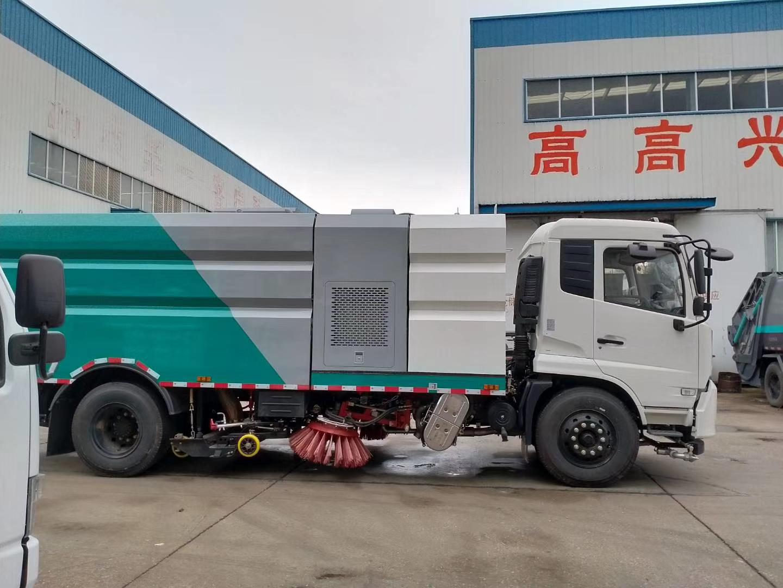 东风天锦国六16方洗扫车价格报价图片