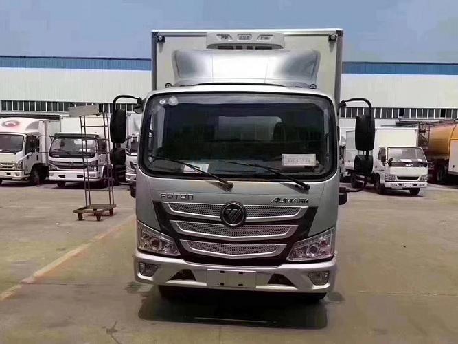 福田欧马可S1冷藏车视频