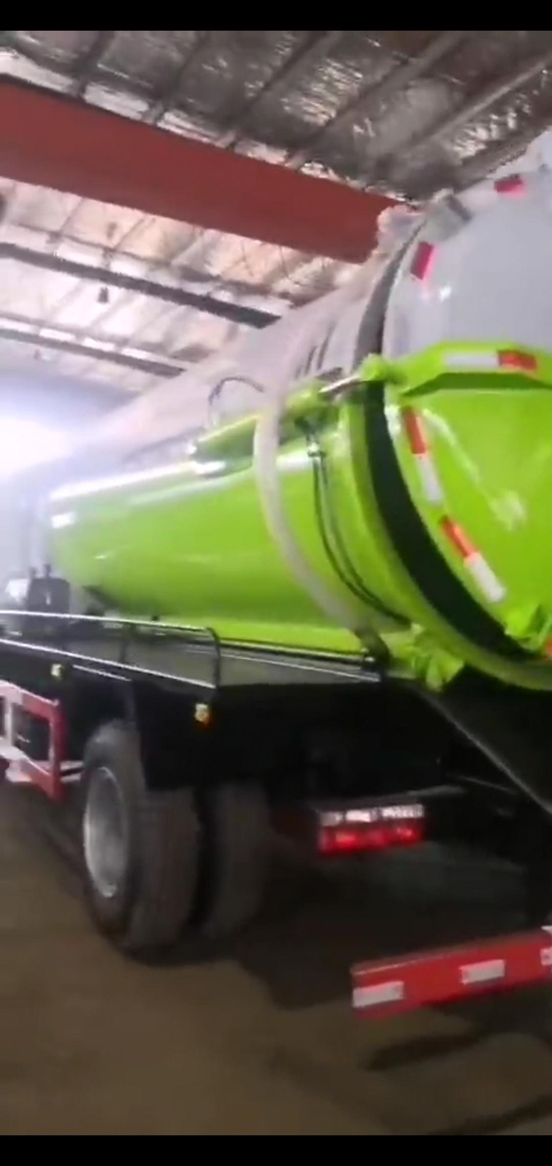 国六东风多利卡D9吸污车价格报价视频
