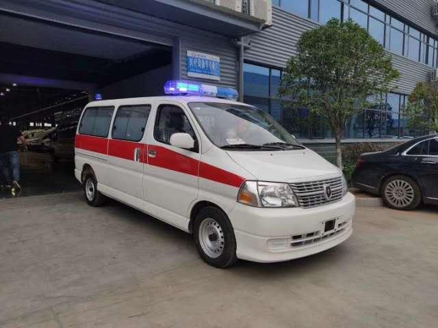 金杯新快运救护车,最便宜的救护车图片
