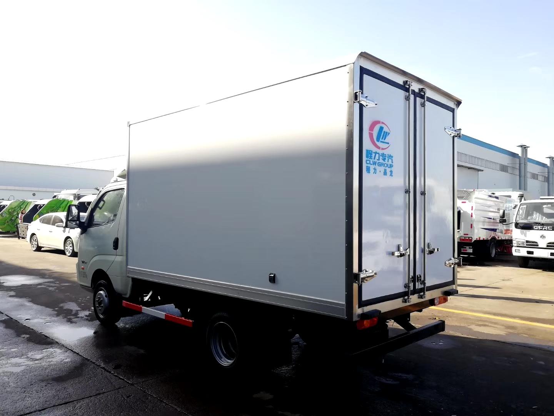 国六飞碟3米5冷藏车图片