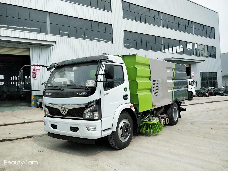 东风国六福瑞卡3800轴距洗扫车