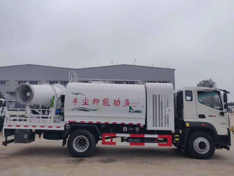 抑尘洒水车厂家12方东风福田雾炮车洒水车抑尘车的区分和保养图片