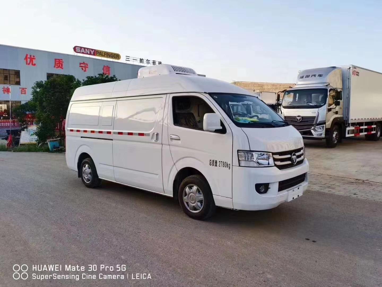 福田风景G9双排冷藏车(柴油)图片