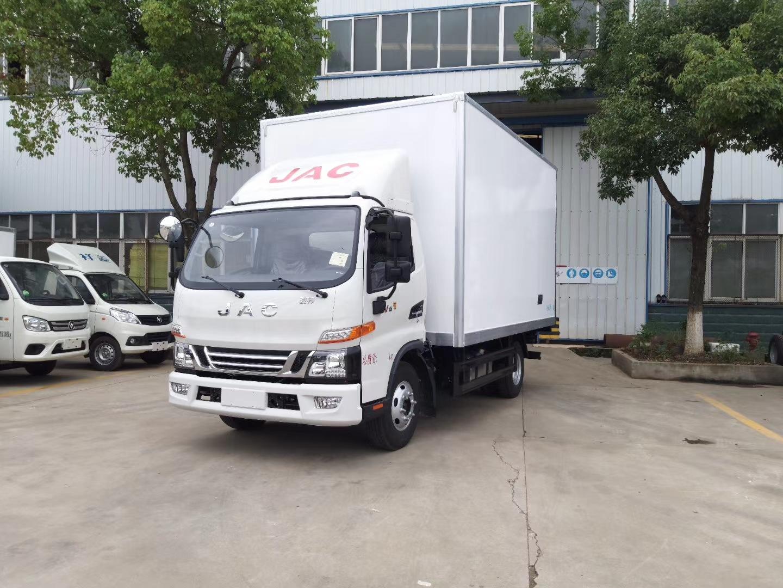 國六江淮駿鈴V6冷藏車圖片
