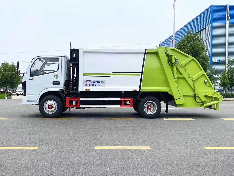 国六多利卡6方压缩垃圾车图片