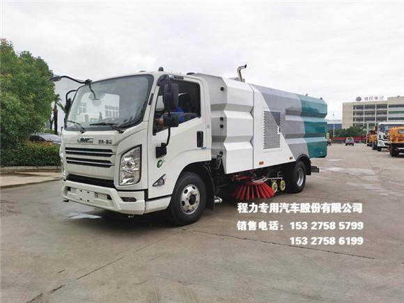 国六江铃凯锐N800型8方洗扫车