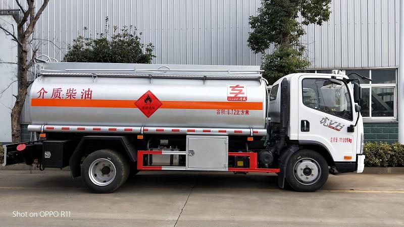热销解放8.72立方加油车参数 解放8吨油罐车厂家报价视频视频