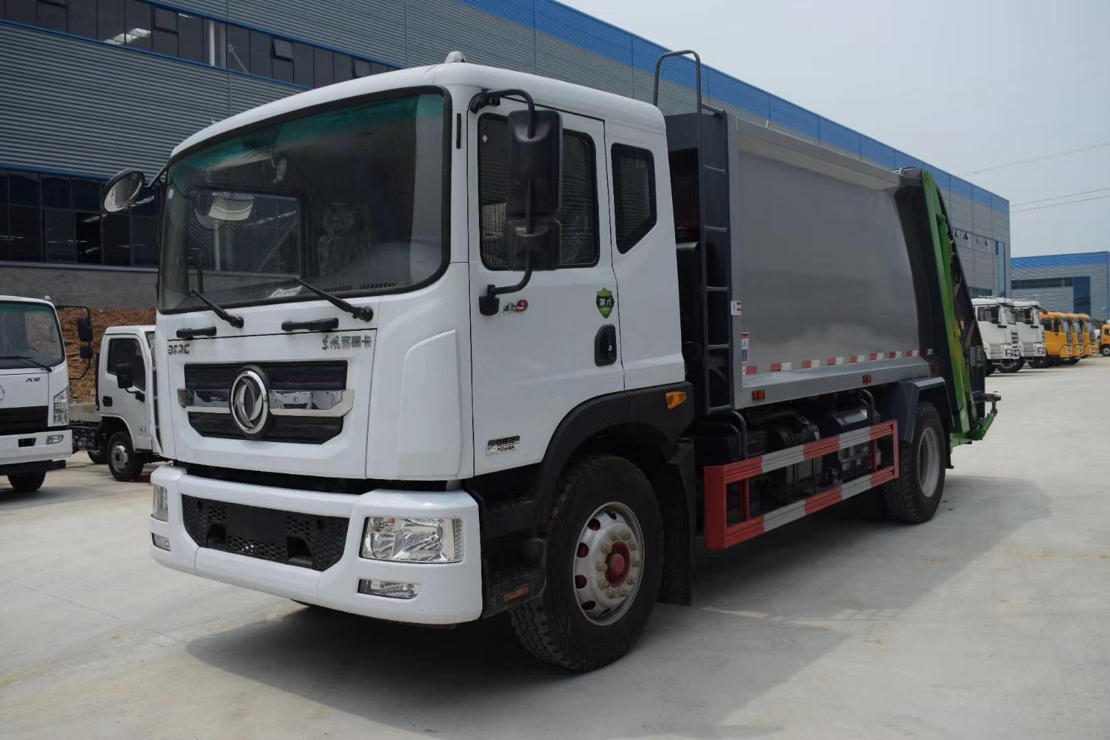国六D9东风10吨压缩垃圾车价格报价图片