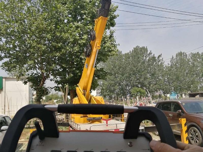 16米直臂高空作业车能干百分之九十的活