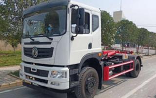 東風天然氣國六勾臂垃圾車圖片