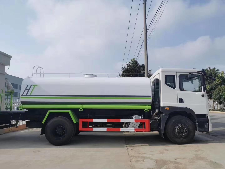 国六T5驾驶室15吨洒水车价格厂家图片