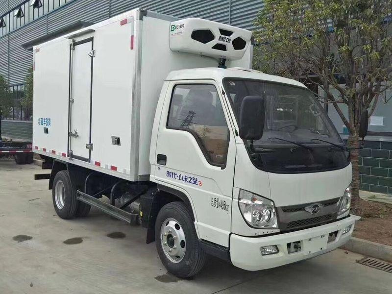 国六福田小卡之星3米5柴油小型冷藏车隆重上市