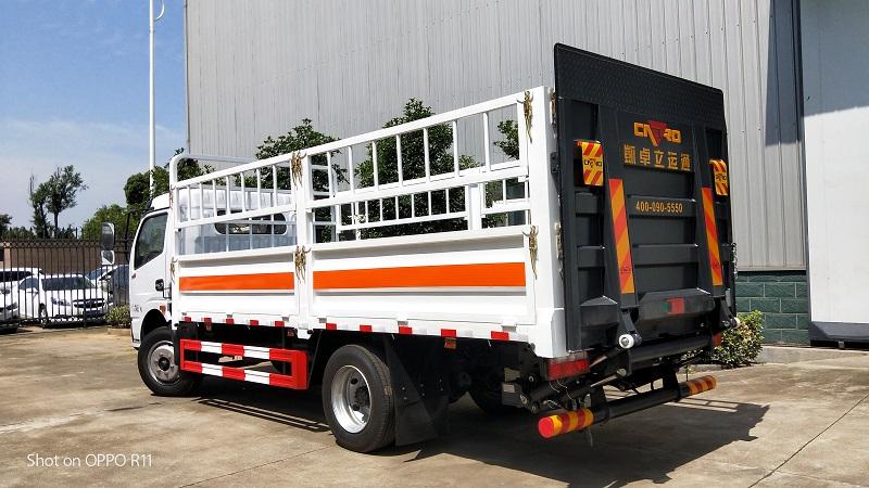 國六東風多利卡D7廂長5.15米氣瓶運輸車廠家包上戶視頻圖片