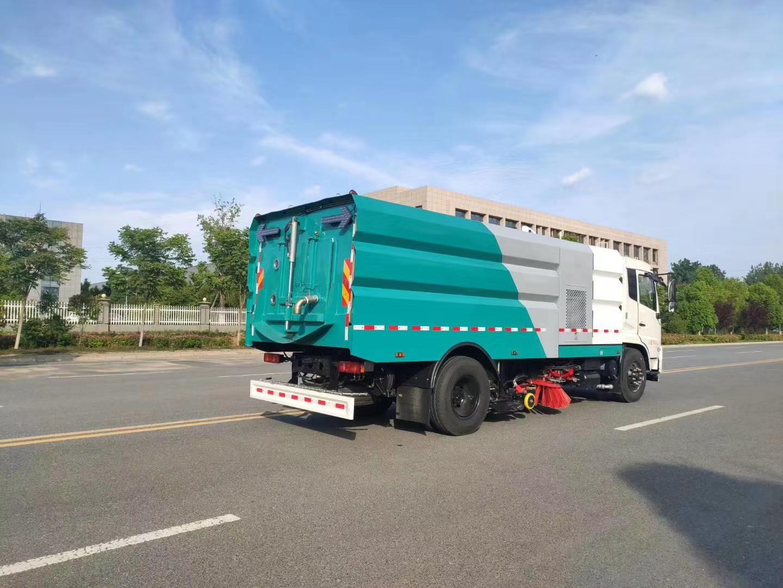 国六北京牌东风天锦洗扫车可上北京牌图片
