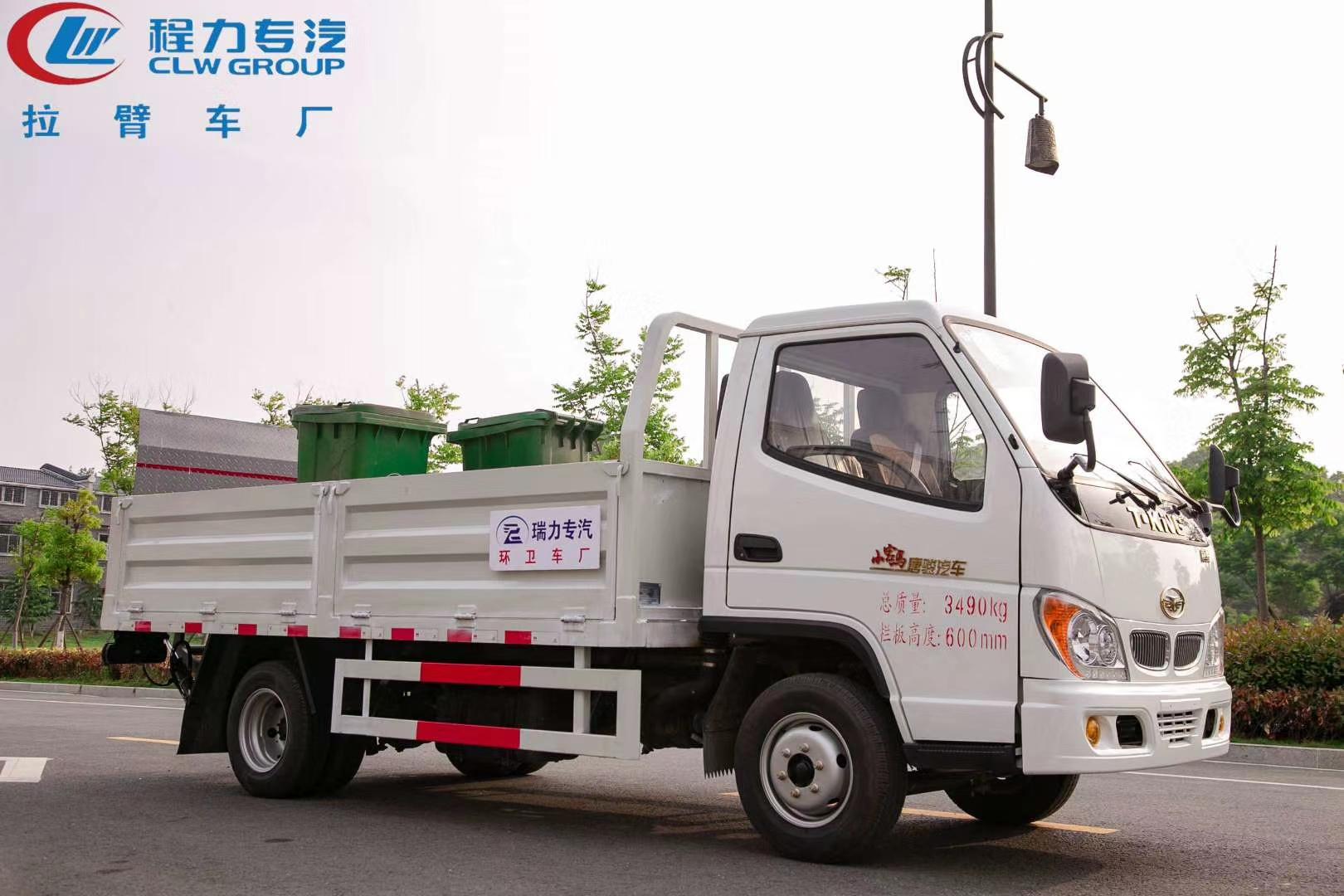 国六桶装垃圾车配置价格介绍图片