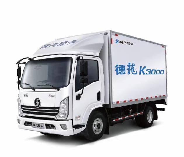 國六陜汽德龍輕卡冷藏車圖片