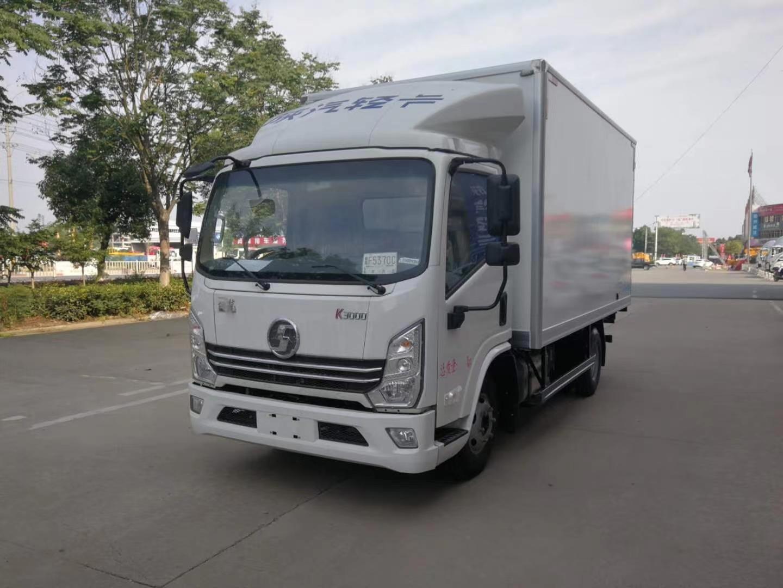 国六陕汽德龙K3000冷藏车