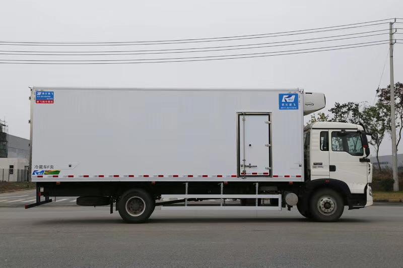重汽豪沃6米冷藏车价格图片