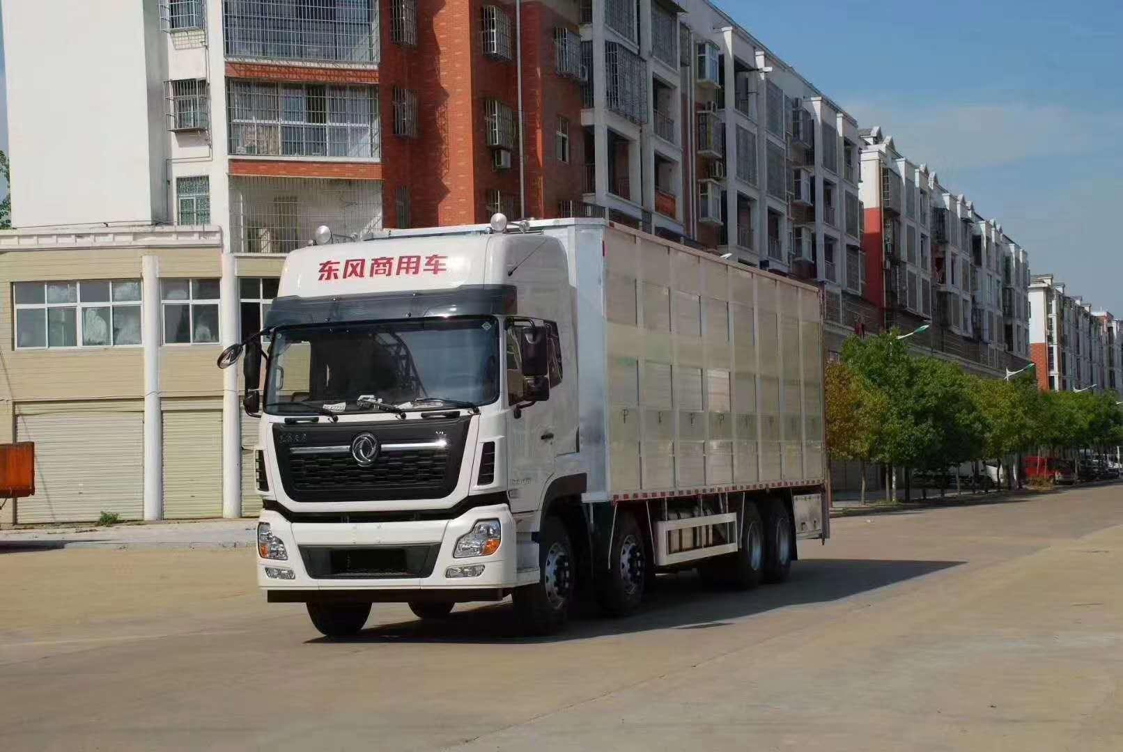 新型环保畜禽运输车