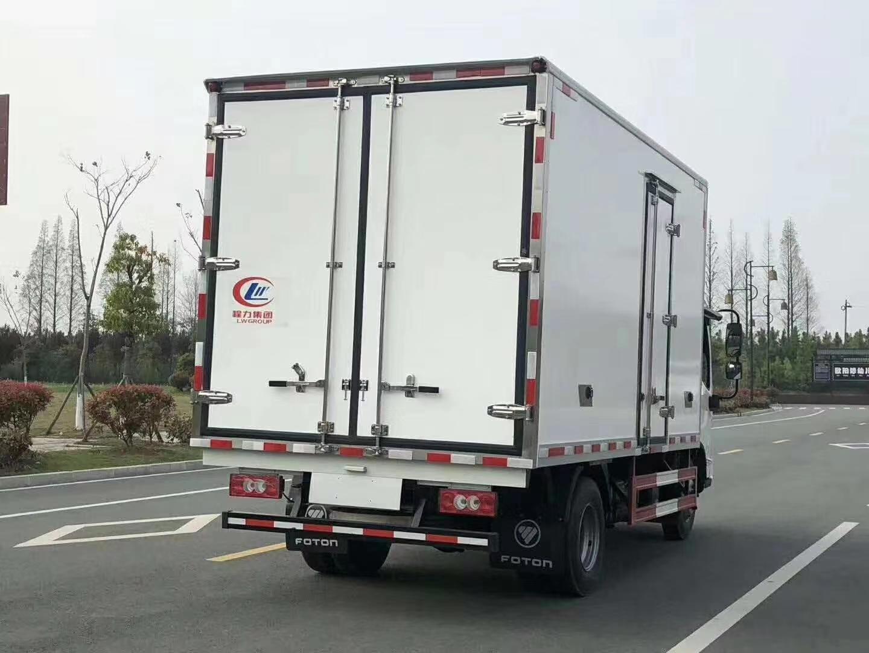 欧马可S3国六宽体冷藏车图片