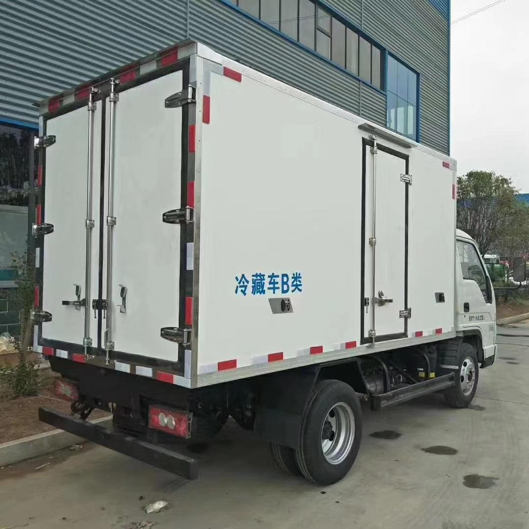 国六福田小卡冷藏车图片