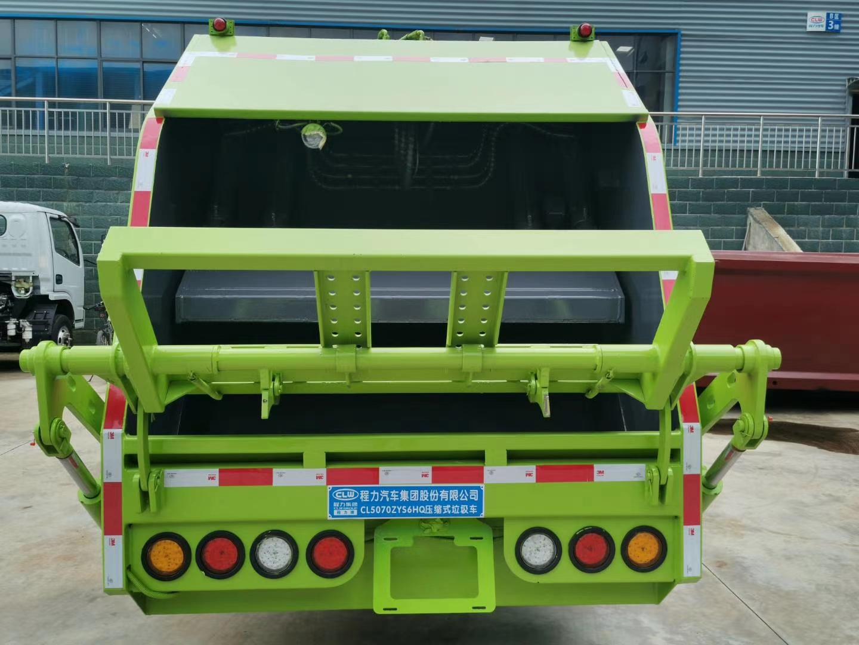 国六东风多利卡6方压缩垃圾车价格图片