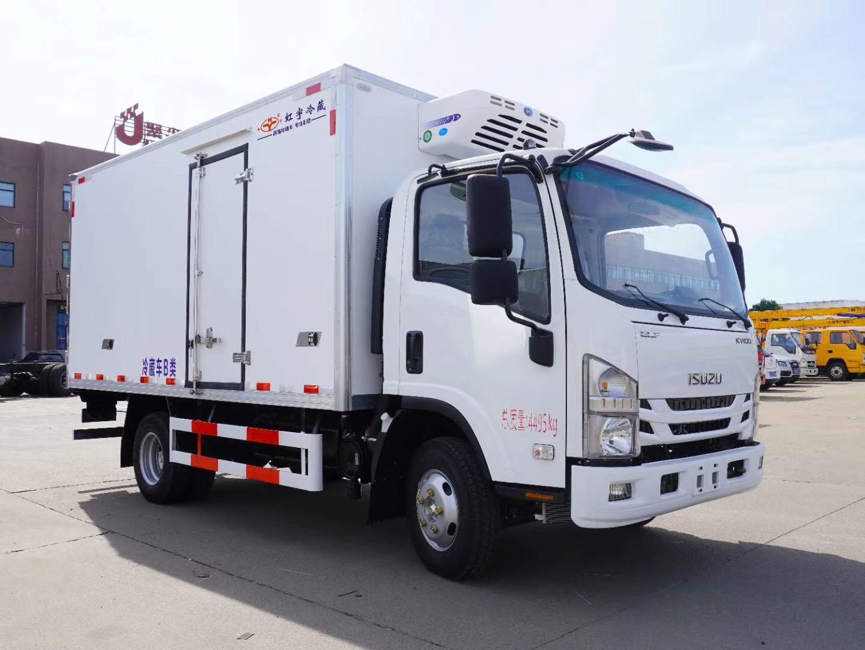 4米2庆铃五十铃KV100冷藏车(国六)火热促销中