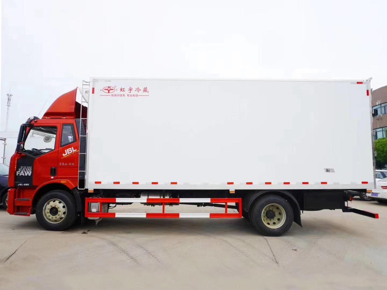 解放J6L平頂冷藏車圖片