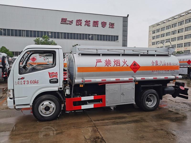 二手工地5吨加油车东风多利卡5吨油罐车 视频视频