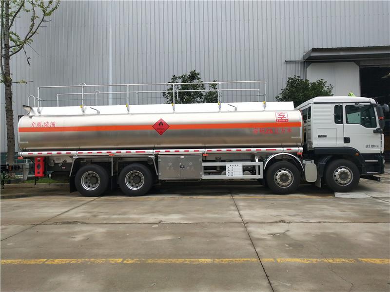 同威 汕德卡20吨铝合金油罐车多少钱厂家直销视频视频