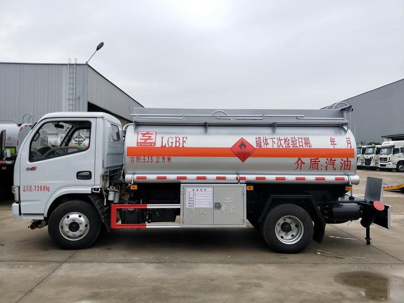 5噸油罐車廠家價格 東風多利卡5.15立方加油車現貨視頻視頻