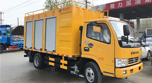 国六污水处理系统及污水处理车