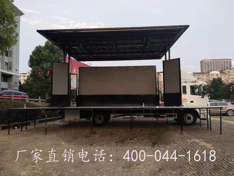 江淮厢长7.6米60平米舞台车图片