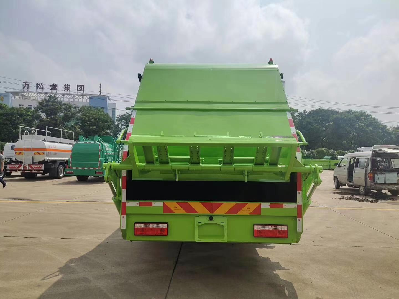 国六东风D9后装压缩垃圾车图片