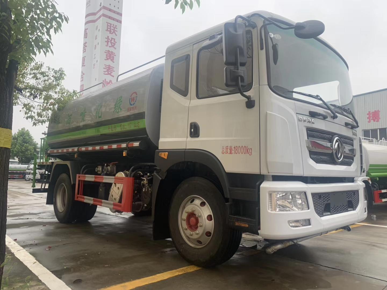 可上京牌12吨东风D9绿化喷洒车图片