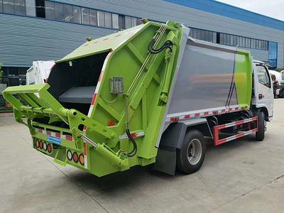 国六东风小多利卡垃圾车生产厂家 湖北随州环卫图片