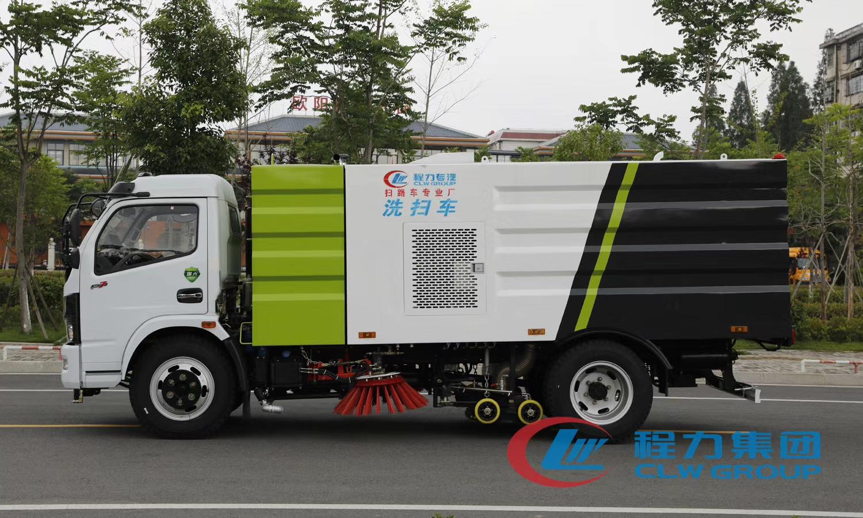 国六9方洗扫车专业定制保洁公司视频