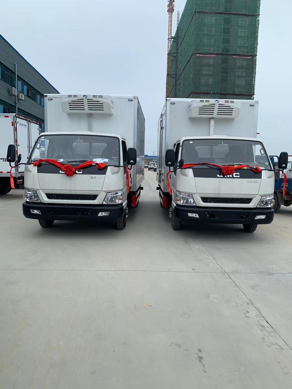 国六国五4.2米冷藏车五十铃发动机专业厂家图片