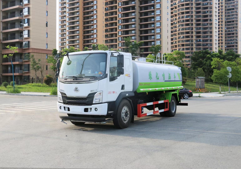 國六柳汽15噸灑水車現車銷售圖片